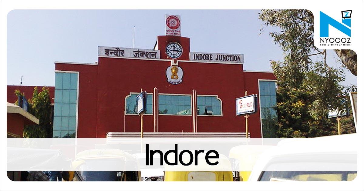 VIDEO : इंदौर में DAVV कुलपति ऑफिस में जमकर तोड़फोड़